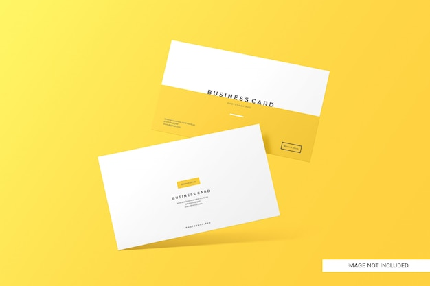 Креативный визитная карточка макет