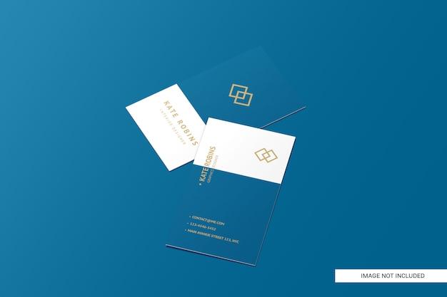 Портрет макет визитной карточки