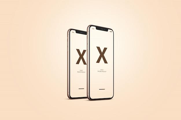 Золотой мобильный телефон