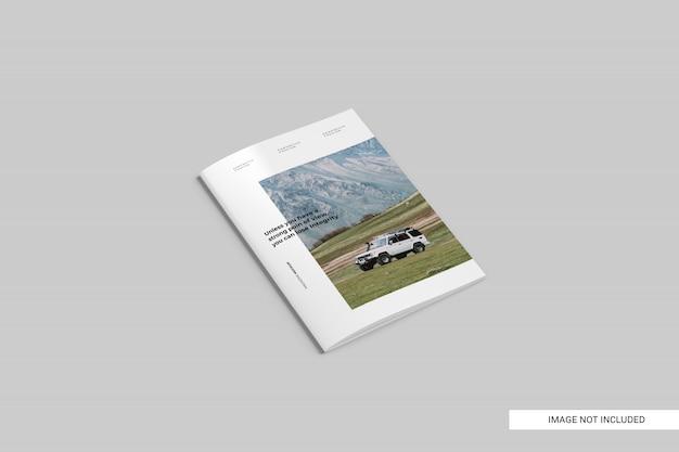現実的な雑誌テンプレート