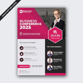 Бизнес-конференция флаер