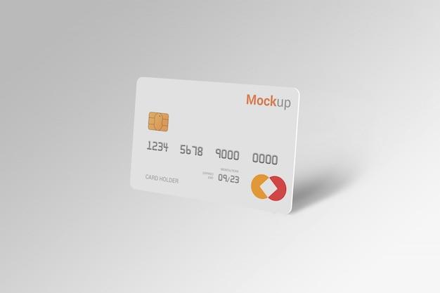 Дебетовая карта, кредитная карта, макет смарт-карты