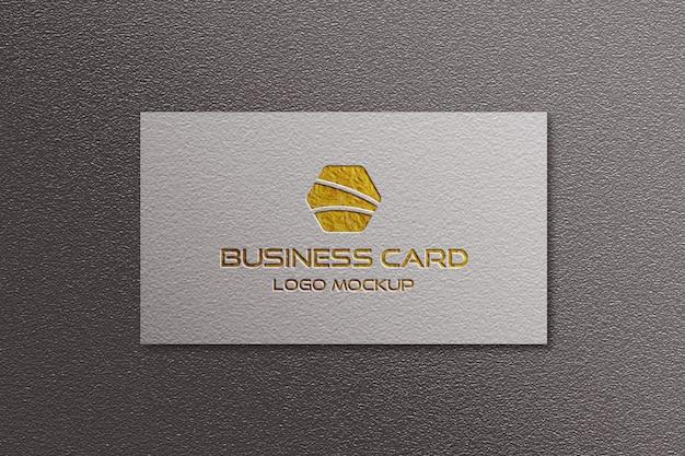 Визитная карточка логотип макет