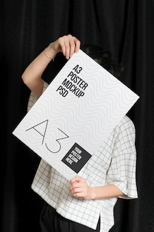 Современный постер макет