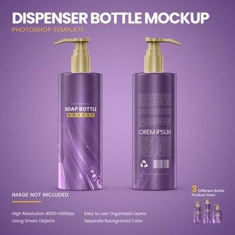 Макет бутылки диспенсера