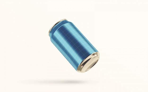 浮遊炭酸飲料缶のモックアップ