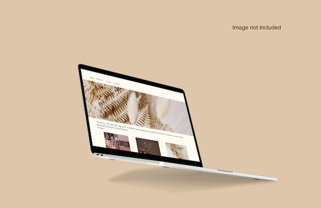 Ноутбук цифровое устройство макет
