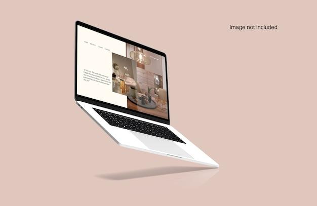 Ноутбук цифровой макет