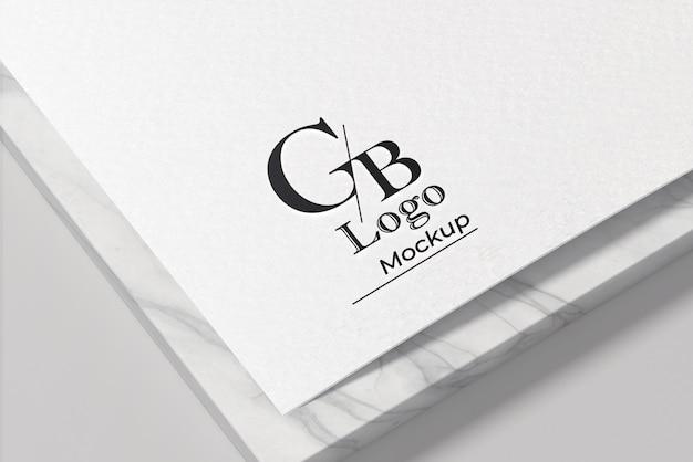 Элегантный дизайн макета логотипа