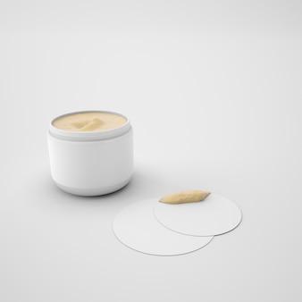Контейнер для крема для кожи