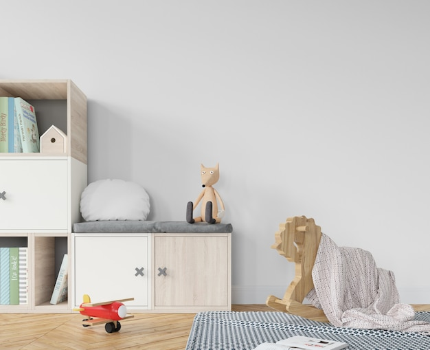 Детская комната с игрушками
