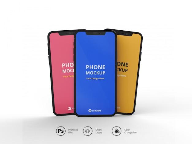 Телефон макет