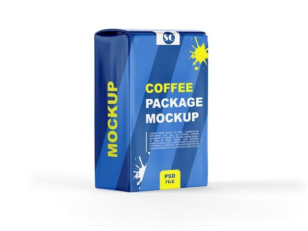 Макет кофейного пакета