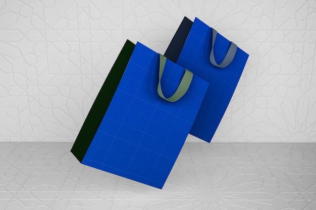 アラビア語の紙バッグ