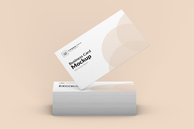 Визитная карточка макет.