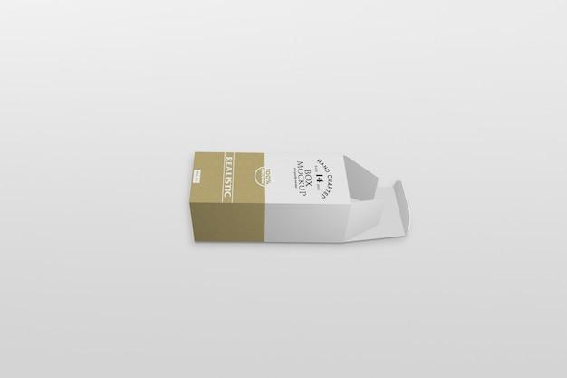 Тонкая коробка, упаковывающая макет