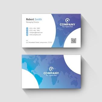 Макет визитной карточки