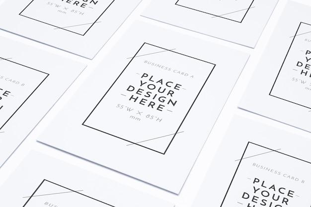 空白のビジネスポスターパターン