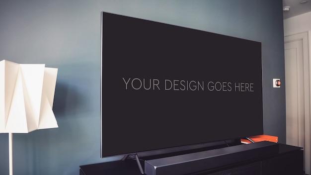テレビ表示モックアップ