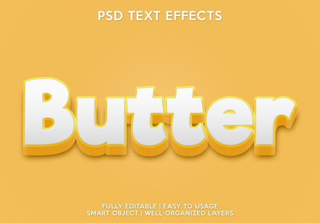 Шаблон для шрифта текста с эффектом текста маслом
