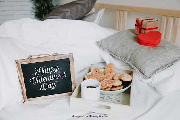 バレンタインフレームモックアップ
