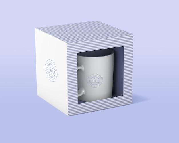 Макет кружка кофе