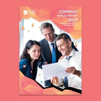 Макет корпоративного годового отчета