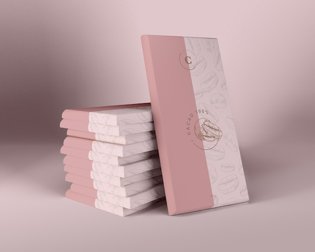 チョコレートデザインのための包装紙