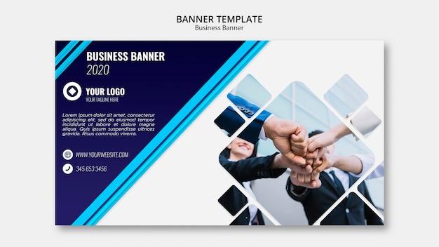 Шаблон бизнес-баннера