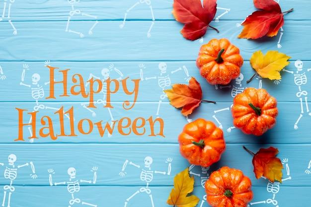 Вид празднования дня хэллоуина