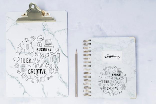 クリップボードとトップビューのメモ帳