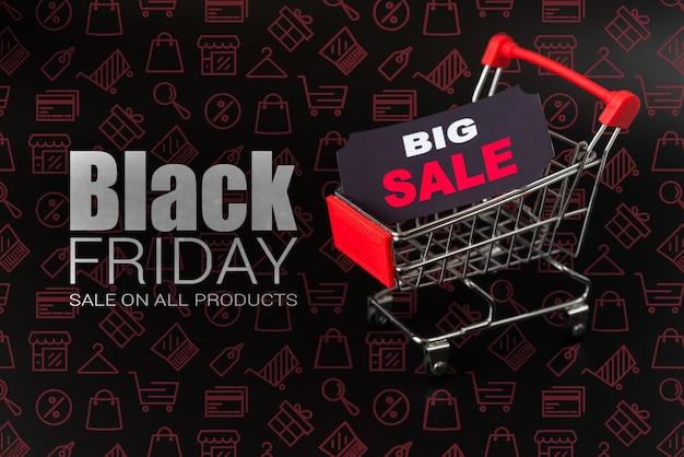 Большие онлайн-продажи в черную пятницу