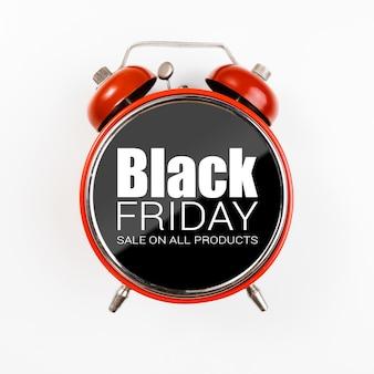 買い物のための黒い金曜日の時間