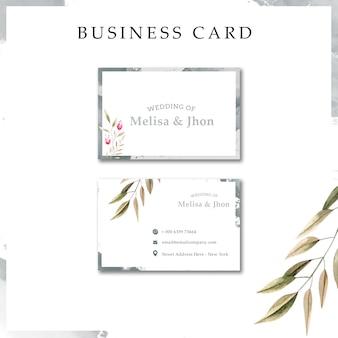 モダンな結婚式の招待カード