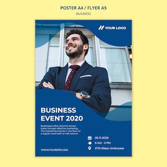 Шаблон бизнес-постера