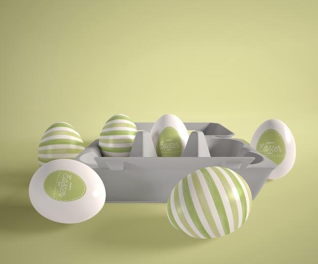 イースターの卵と型枠