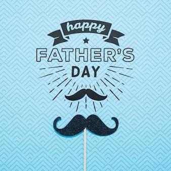 Счастливый день отца макет концепции