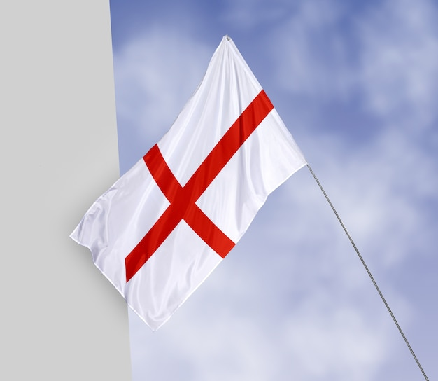 Красивый макет концепции флага