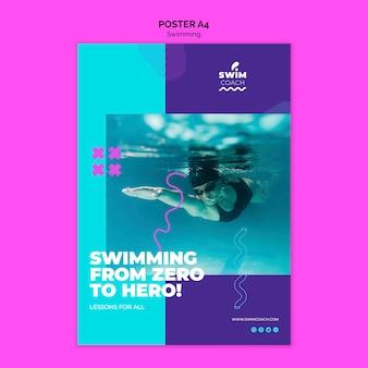 Шаблон плавающего плаката