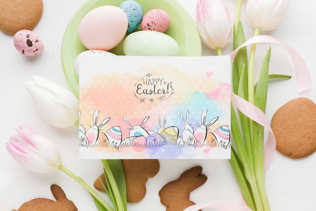 イースターのための塗装卵