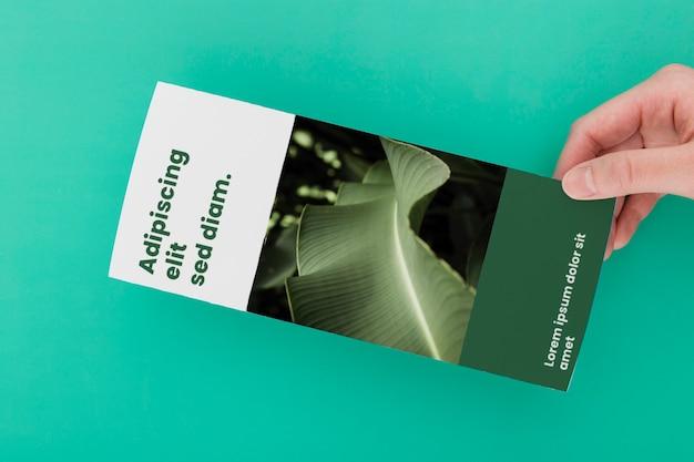 Макет концепции брошюры