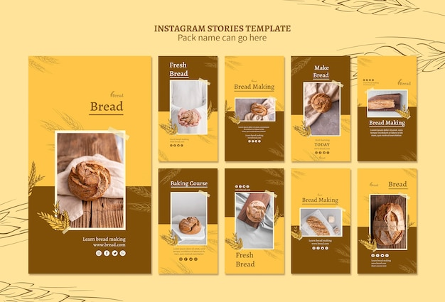パン作りのインスタグラムストーリー