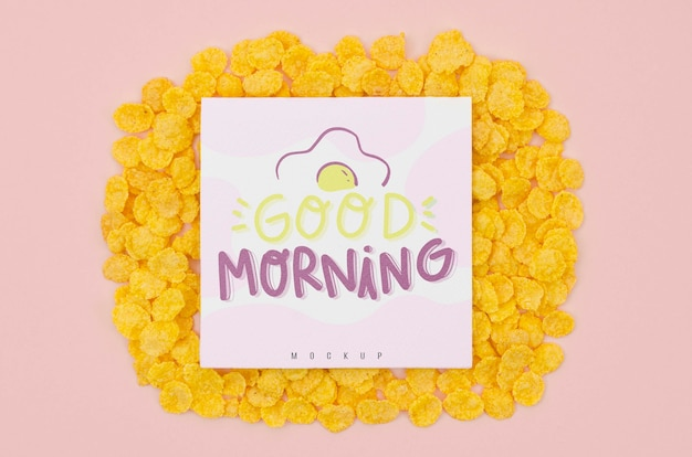 シリアルとおはようメッセージ