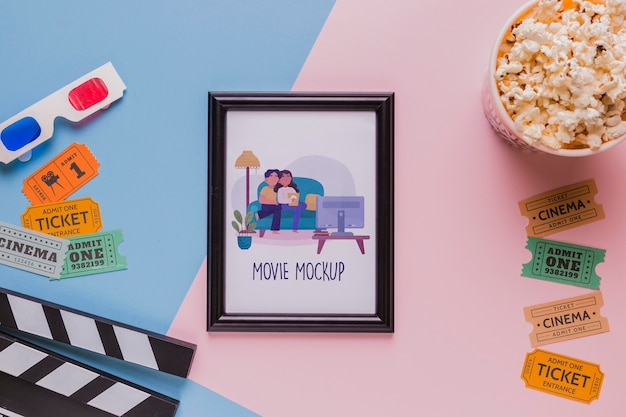 Концепция кинотеатра с рамкой