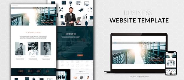 あなたのビジネスのためのウェブサイトデザイン