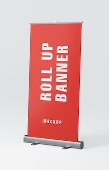 Макет рулонного баннерного стенда