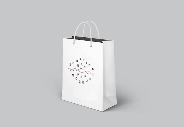 Макет магазина бумажный пакет