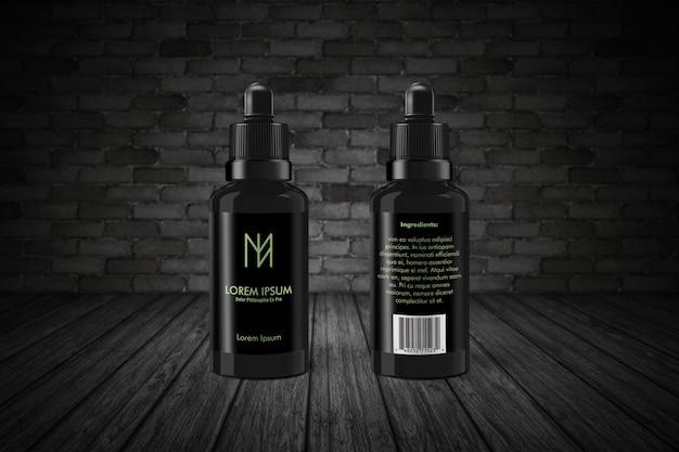 Макет бутылки капельницы