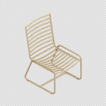 等尺性椅子