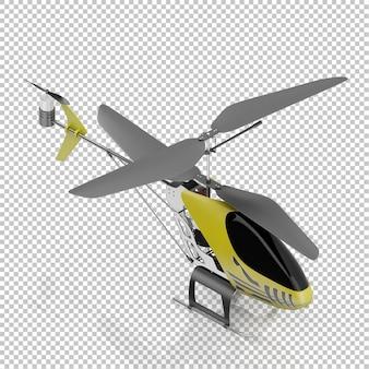 アイソメ子供ヘリコプター